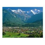 Interlaken and the Jungfrau range Post Cards