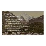 Interlaken, con Jungfrau, Bernese Oberland, Switz Tarjetas Personales