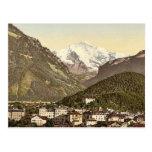 Interlaken, con Jungfrau, Bernese Oberland, Switz Postales