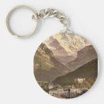 Interlaken, hotels, Bernese Oberland, Switzerland Key Chain
