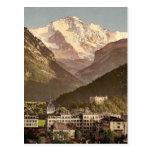 Interlaken, hotels, Bernese Oberland, Switzerland Post Cards