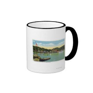 Interlaken Park View of the Weirs Ringer Coffee Mug