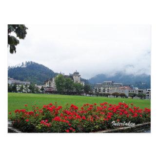 Interlaken, Suiza Postal