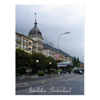 Interlaken  Switzerland Postcard