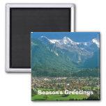 Interlaken y el Jungfrau Imán De Frigorífico