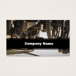 Interlinking Gears Business Card