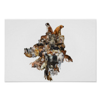 Interlocking Canines Posters