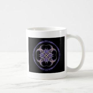 Interlocking Circles and Hearts Coffee Mug