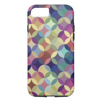 Interlocking Circles Geometric Pattern iPhone 7 Case