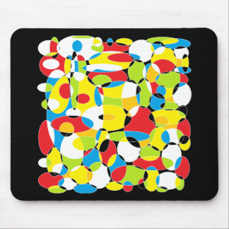 Interlocking Circles of Life Mouse Pads