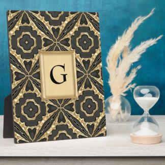 Interlocking Gold Lace Photo Plaque