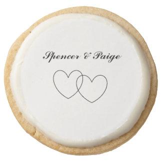"""""""Interlocking Hearts"""" Shortbread Cookies"""