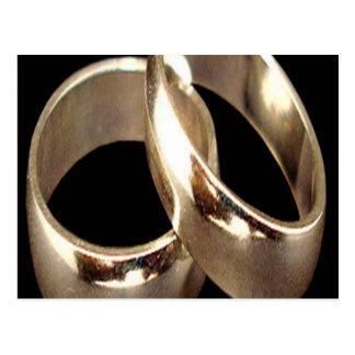 Interlocking Rings Greeting Card