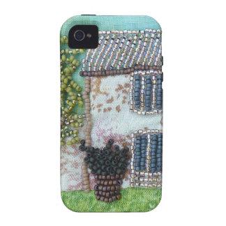 Interludio de rubíes del francés de los diseños de Case-Mate iPhone 4 carcasas