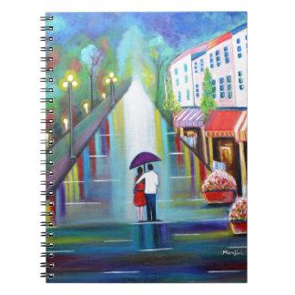 Interludio romántico - París Notebook
