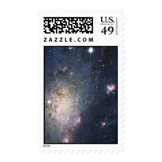Intermediate Spiral Galaxy NGC 2403 Caldwell 7 Postage Stamps