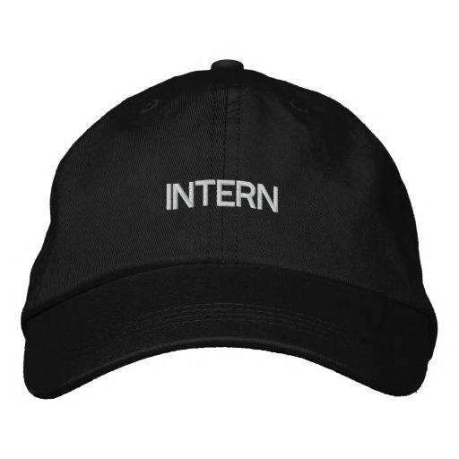 INTERN EMBROIDERED BASEBALL CAP
