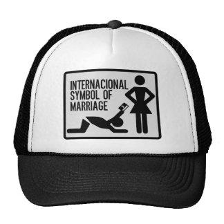 Internacional Symbol of Marriage Trucker Hat