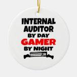 Internal Auditor by Day Gamer by Night Ceramic Ornament