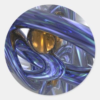 Internal Bliss Abstract Sticker