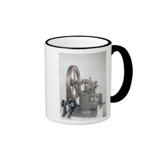 Internal combustion engine, 1876 coffee mugs