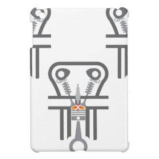 Internal combustion engine vector iPad mini cases