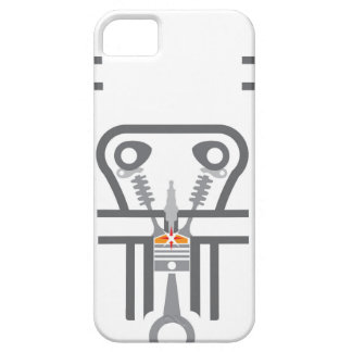Internal combustion engine vector iPhone SE/5/5s case