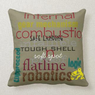 'Internal Combustion' Pillow