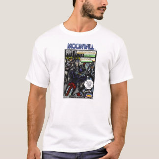 Internal Hero Presents Moonwill Comic Page #1 T-Shirt