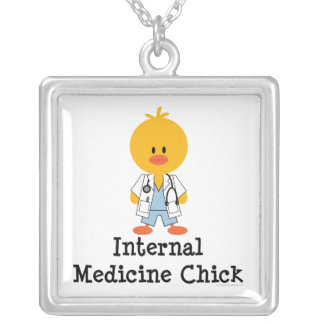 Internal Medicine Chick Necklace
