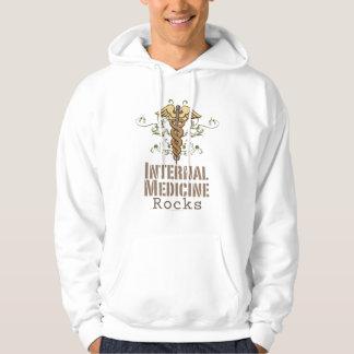 Internal Medicine Rocks Caduceus Hooded Sweatshirt
