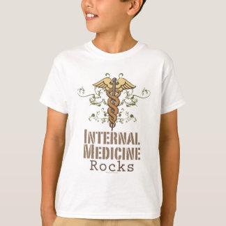 Internal Medicine Rocks Caduceus Kids T-shirt