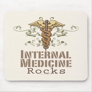 Internal Medicine Rocks Caduceus Mousepad