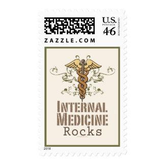 Internal Medicine Rocks Caduceus Stamps