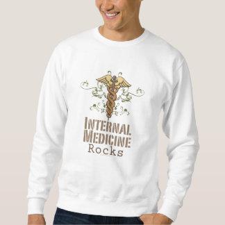 Internal Medicine Rocks Caduceus Sweatshirt