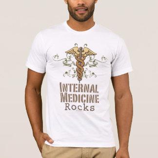 Internal Medicine Rocks Caduceus T shirt