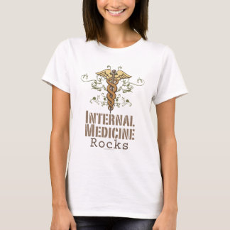 Internal Medicine Rocks Caduceus T-shirt