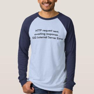 Internal Server Error - Light Shirt