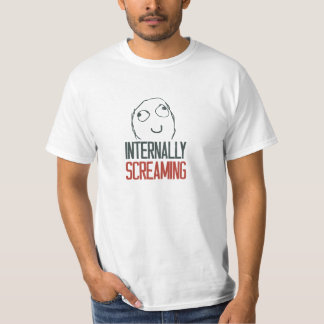 Internally screaming meme T-Shirt