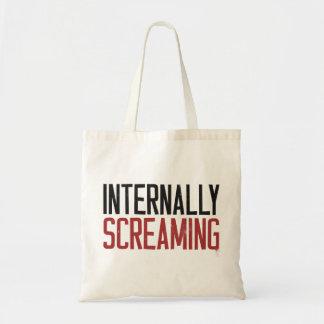 Internally Screaming Tote Bag