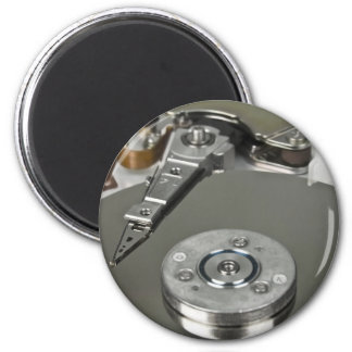 Internals of a hard disk drive magnet