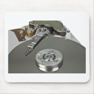 Internals of a hard disk drive mouse pad