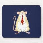 Internashunal Bizness Marty Mouse Mousepad