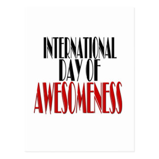 Internatioal Day of Awesomeness Postcard