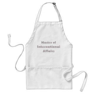 International Affairs Adult Apron