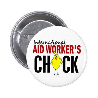 INTERNATIONAL AID WORKER'S CHICK PIN