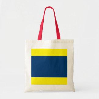 International Alphabet Flags D Tote Bags