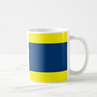 International Alphabet Flags D Classic White Coffee Mug