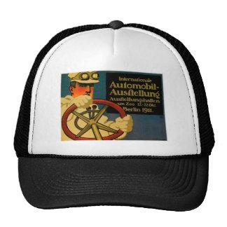 International Auto Show ~ Vintage Motor Car Ad Trucker Hats