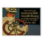 International Automobile Exhibition Poster